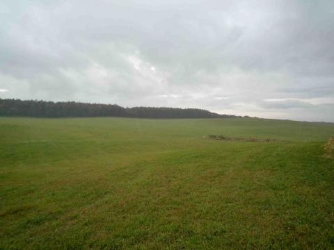 厚床パス:伊藤牧場内のもの思いにふける丘
