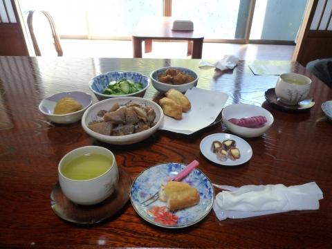 深沢コース:縁側カフェの食事